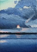 cloudy sunset II 18x13cm