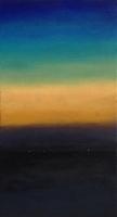 Domburg black sunset 80x40cm