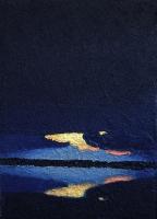 Rorschach sunset I 18x13cm
