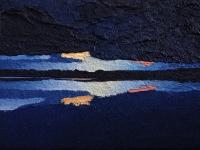 Rorschach sunset II 24x18cm